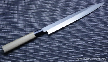 Кухонный нож KANETSUNE Yanagiba 240mm, Magnolia Handle