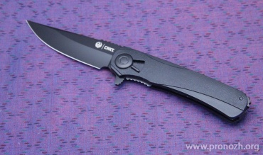 Складной нож Ruger Knives RTD Flipper, Black EDP Coating Blade, Black GRN Handles - Field Strip Technology