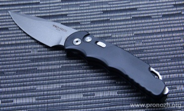 Складной автоматический нож Pro-Tech TR-5 Auto, Stonewash Blade, Black Aluminum Handle