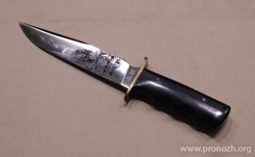 Фиксированный нож Al Mar Rare Vintage Col. James Nick Rowe,  Commemorative Dagger Knife