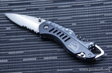 Складной нож Buck Summit, Satin Finish 420HC Steel, Black Aluminium Handle
